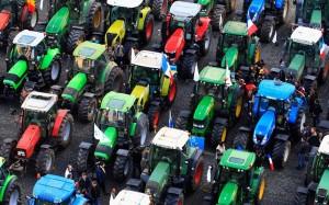 Ūkininkai Briuselyje